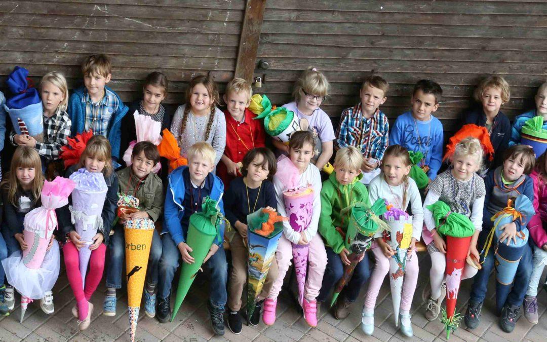Erster Schultag - Montessori Landshut & Geisenhausen