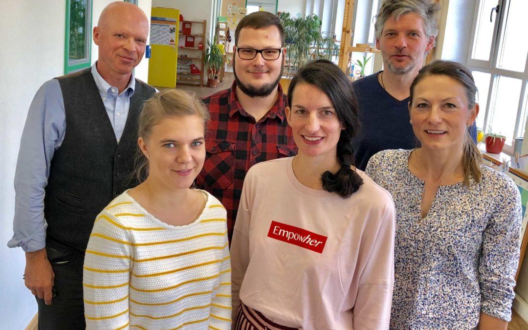 Neue Gesichter im pädagogischen Team